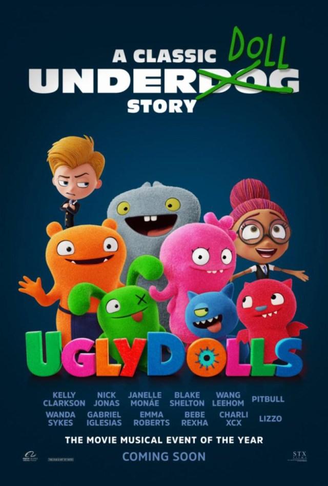 [News] Final UGLYDOLLS Trailer Embraces Unconventionality