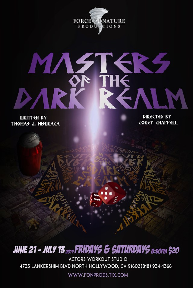 [News] MASTERS OF THE DARK REALM Faces Fantastical World Premiere