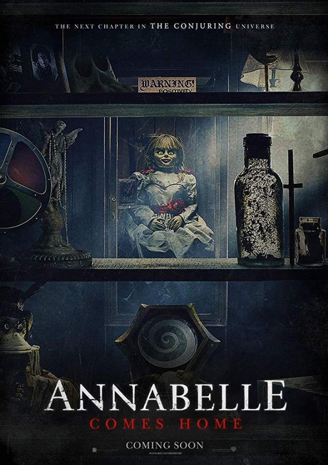 She awakens other spirits in ANNABELLE COMES HOME