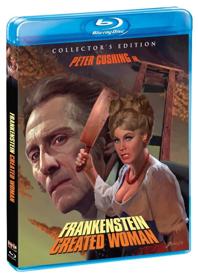 [News] FRANKENSTEIN CREATED WOMAN Arrives on Blu-ray June 11th