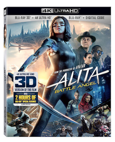 [News] ALITA: BATTLE ANGEL Comes Home on July 23