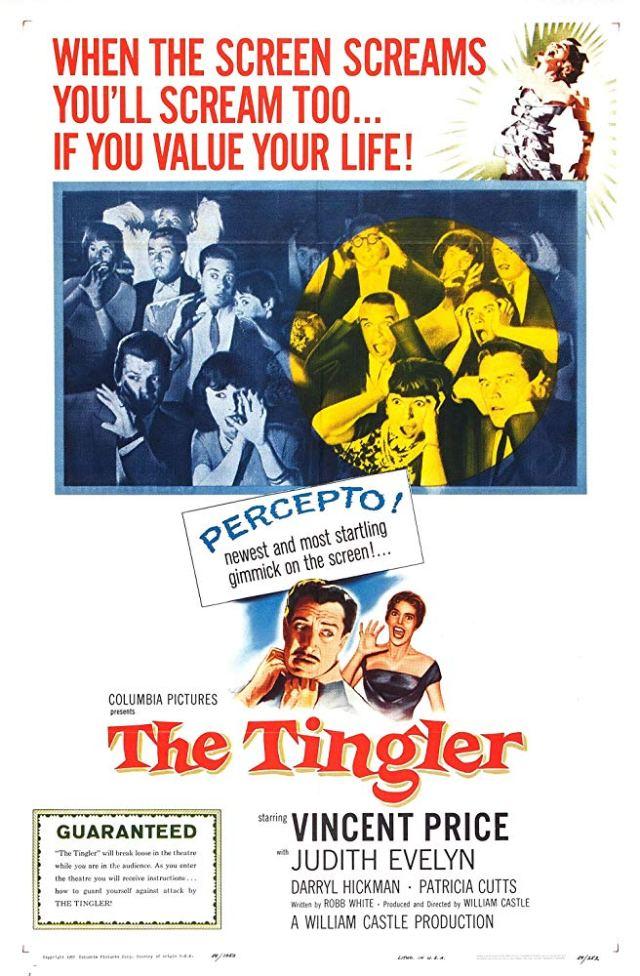 Horrible ImaginingsFilm Review: THE TINGLER in PERCEPTO - 60th Anniversary