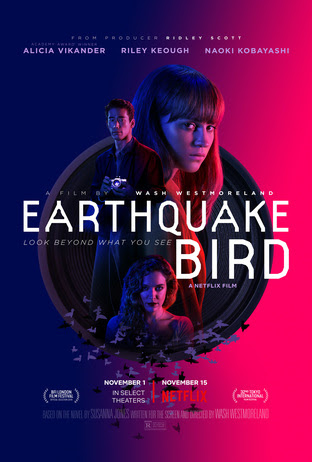 [News] The EARTHQUAKE BIRD Rises in Mysterious Official Trailer