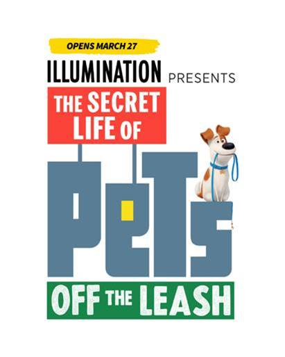 [News] THE SECRET LIFE OF PETS: OFF THE LEASH Ride Opening March 27!