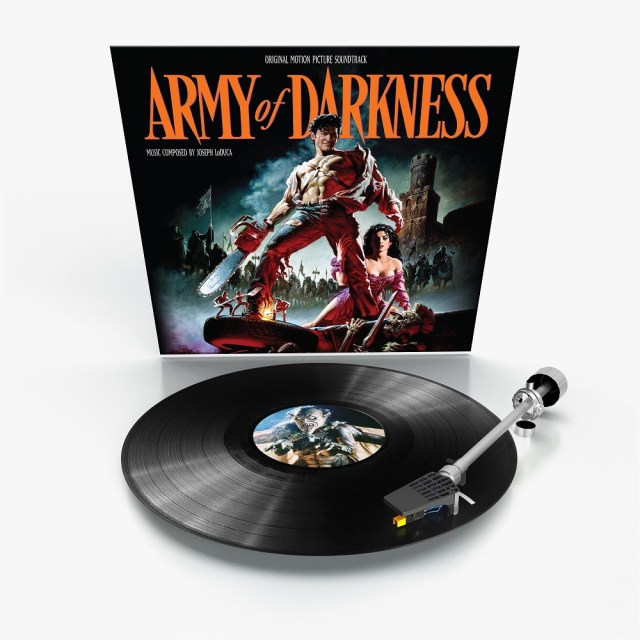 [News] New Release Dates Announced for ARMY OF DARKNESS - Original Motion Picture Soundtrack