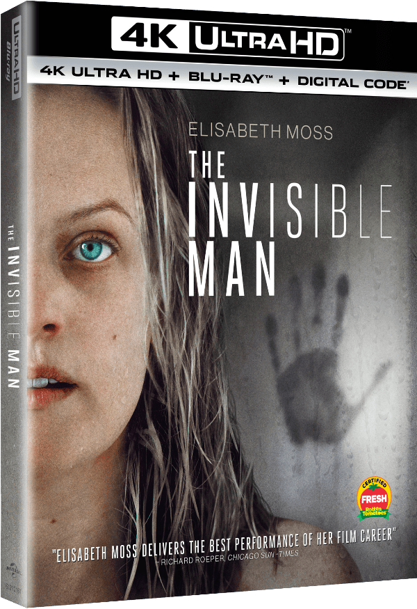 [News] THE INVISIBLE MAN Arriving on 4K, Blu-ray & DVD on May 26