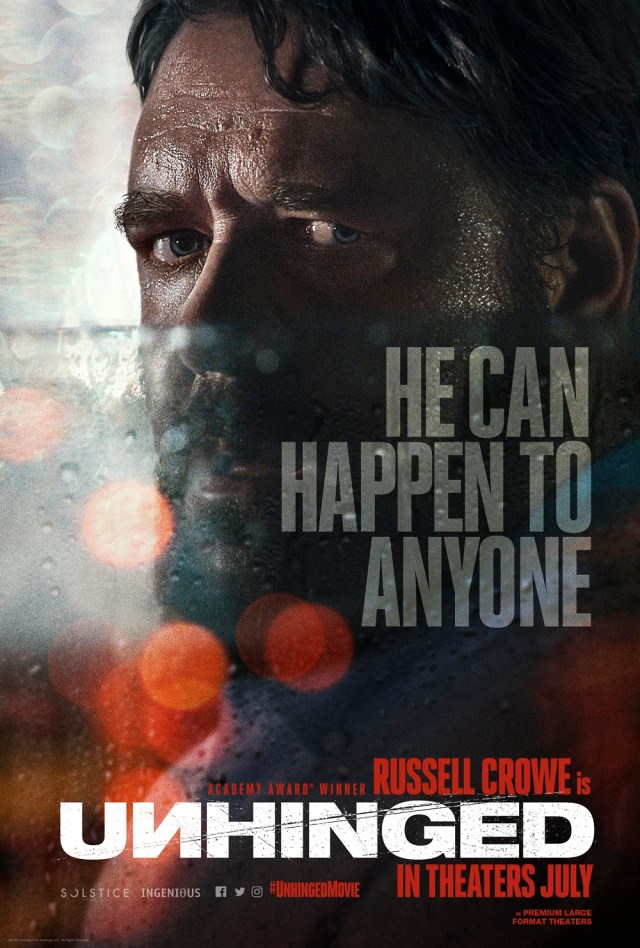 [News] Prepare to be UNHINGED in New Trailer Starring Russell Crowe