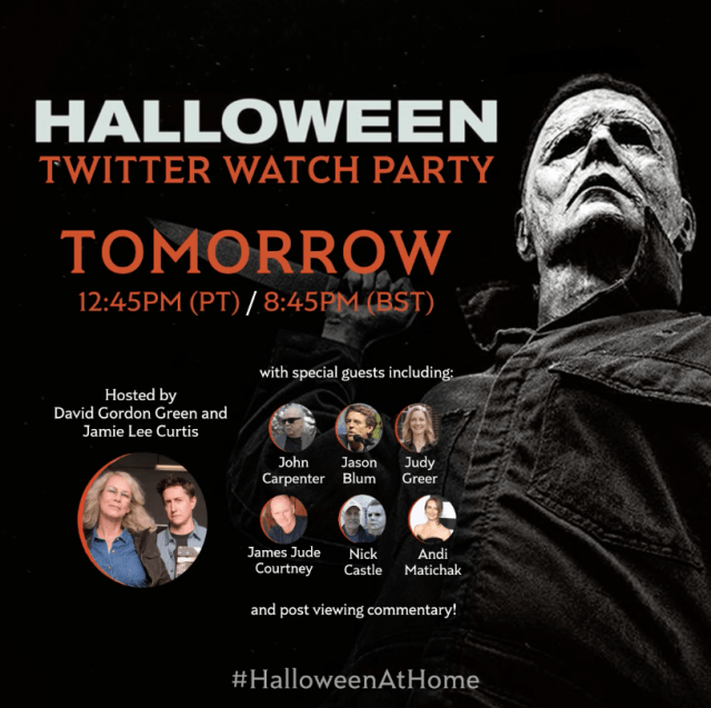 [News] HALLOWEEN Kicks Off Universal Pictures Watch Party Series Tomorrow