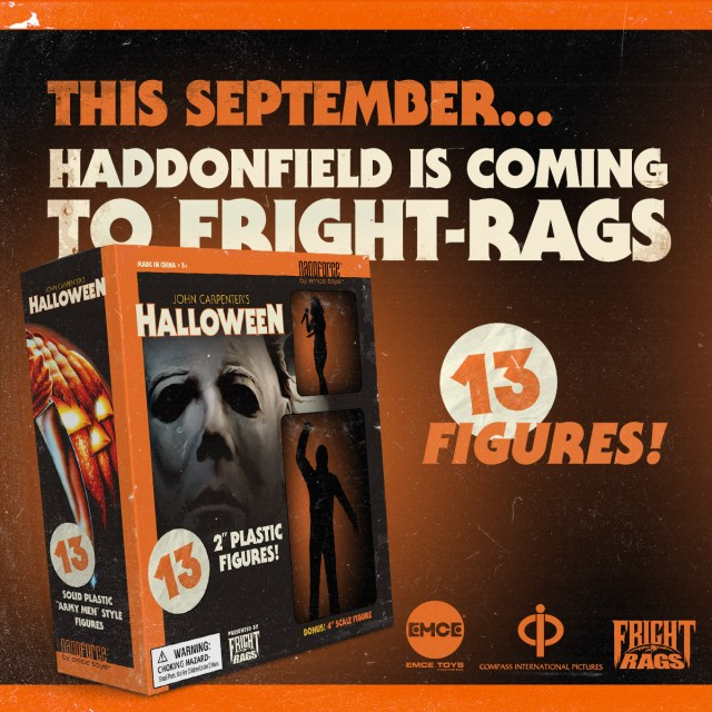 [News] Fright-Rags Teams Up To Create John Carpenter's HALLOWEEN Nanoforce Army Men Set