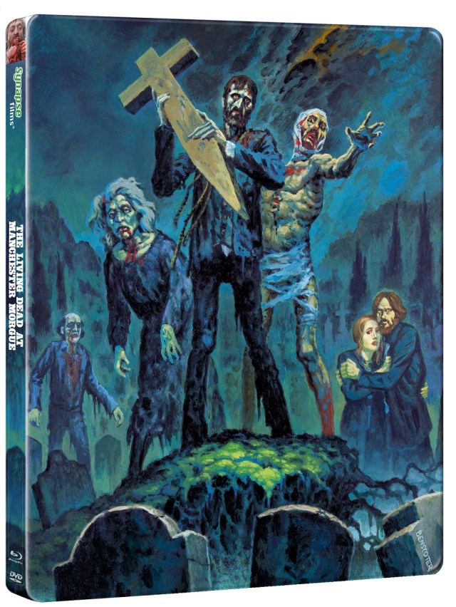 [News] THE LIVING DEAD AT MANCHESTER MORGUE On 3 Disc Steelbook Arriving This Fall!