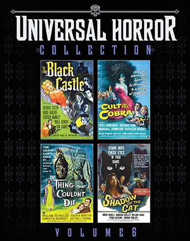[News] Scream Factory Presents UNIVERSAL HORROR COLLECTION VOL. 6 This August