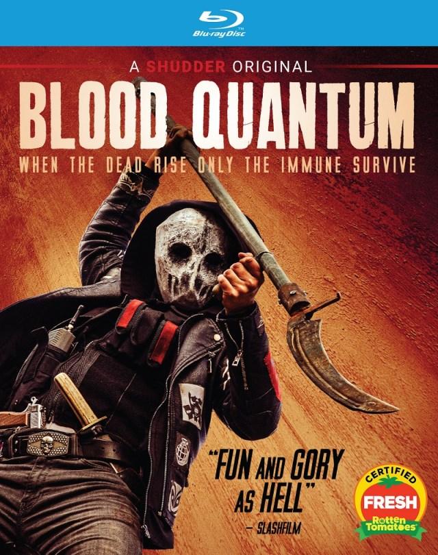 [News] BLOOD QUANTUM Arriving on VOD, DVD & Blu-ray September 1