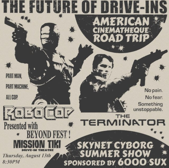 [Article] American Cinematheque's Road Trip to the Drive-In