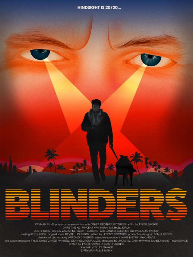 [News] Tyler Savage's BLINDERS to World Premiere at FrightFest Digital