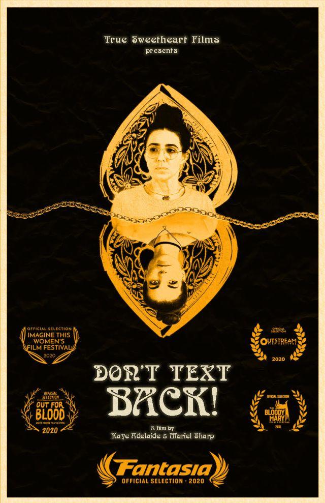 [Fantasia Digital 2020 Review] DON'T TEXT BACK