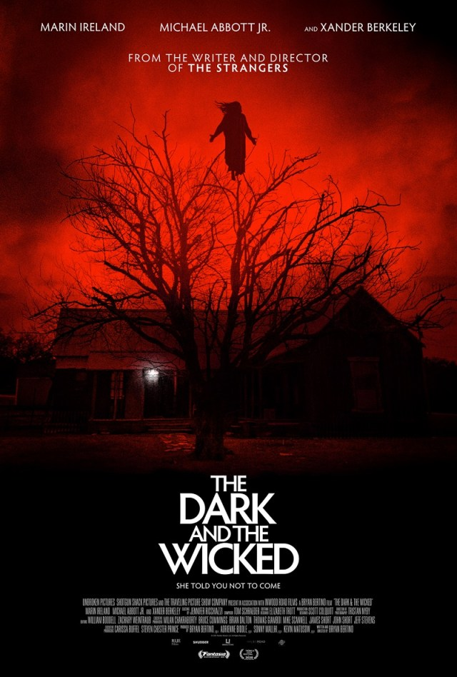 [News] THE DARK AND THE WICKED Arrives in Theaters, Digital & VOD November 6