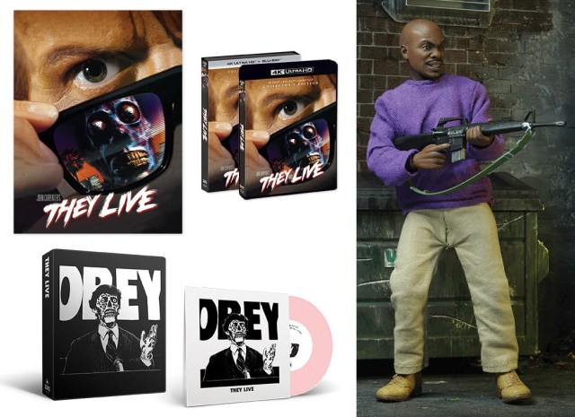 [News] THEY LIVE COLLECTOR'S EDITION 4K UHD/Blu-ray Coming This December!