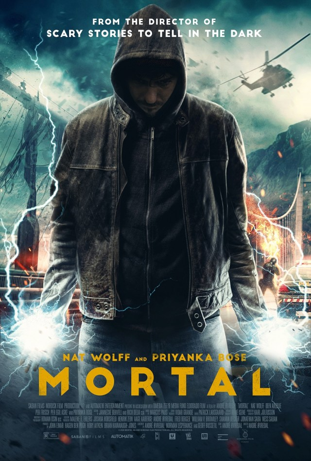 [News] MORTAL Coming to Theaters, VOD, & Digital November 6