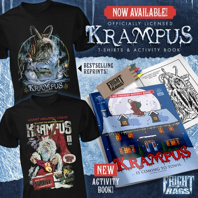[News] Deck The Halls With KRAMPUS From Fright-Rags
