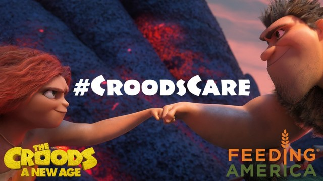 [News] THE CROODS: A NEW AGE Announces Partnership with Feeding America