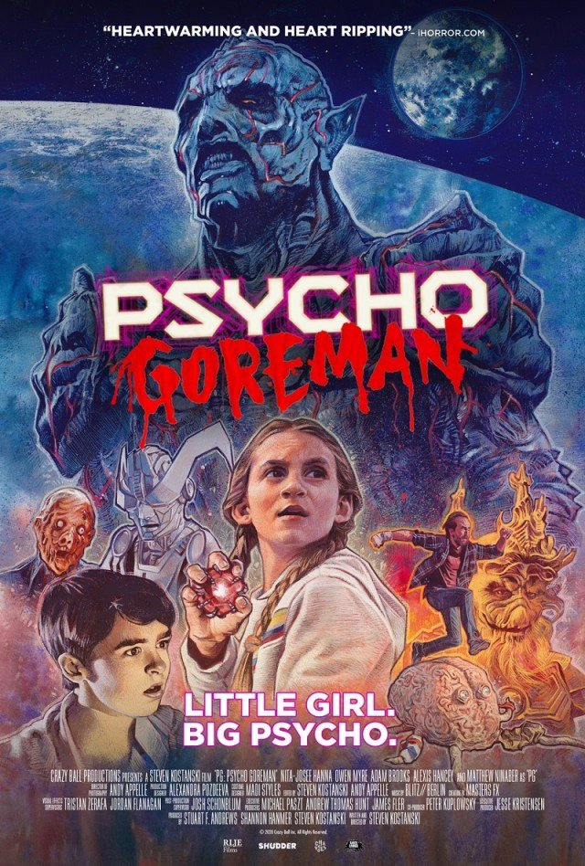 [News] PG: PSYCHO GOREMAN Trailer is Here to Melt Your Eyeballs