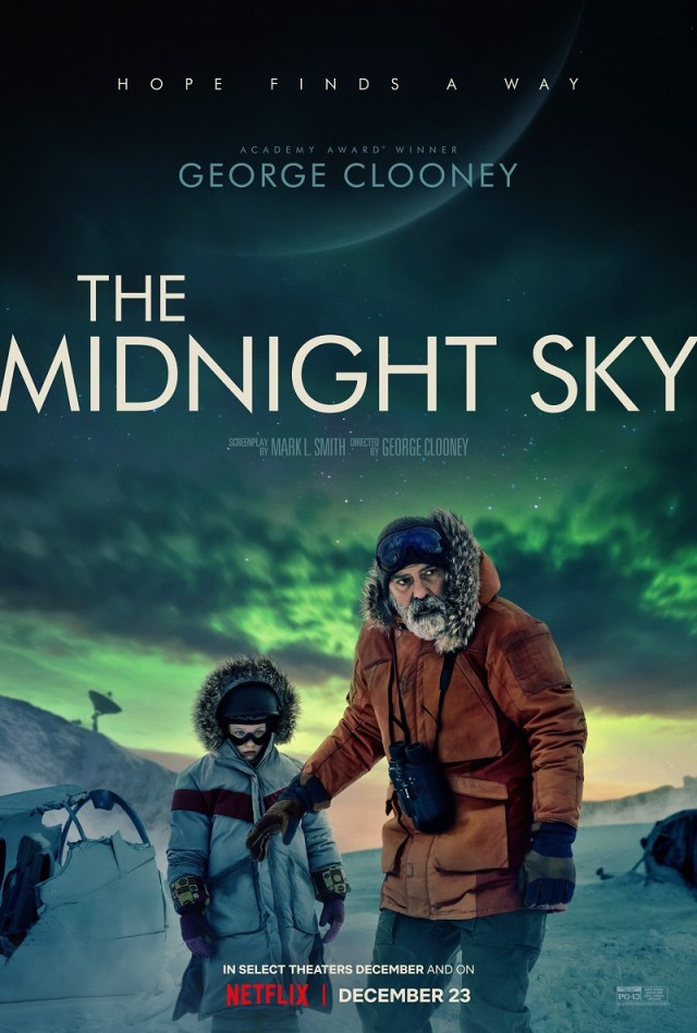 [News] Post-Apocalyptic THE MIDNIGHT SKY Debuts Key Art