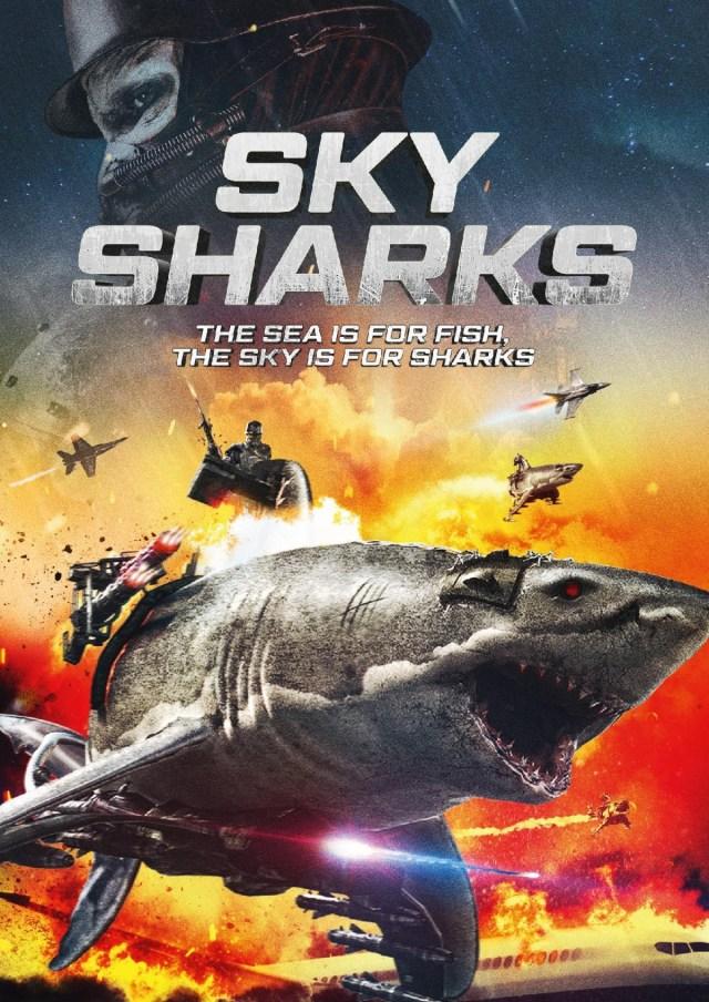 [News] SKY SHARKS Arrives on Digital, Blu-ray & DVD February 2