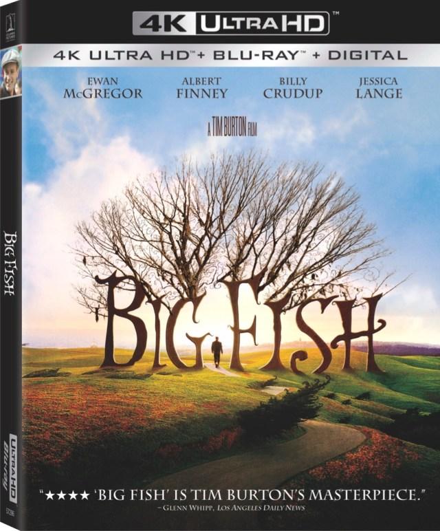 [News] BIG FISH Debuts on 4K Ultra HD on May 4