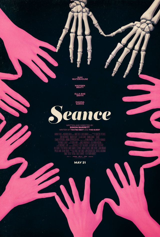 [News] Check Out the New SEANCE Poster Created by Phantom City Creative