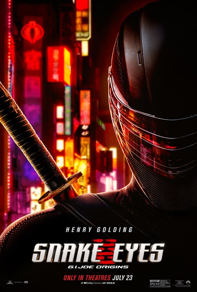 [News] Look Behind The Mask of SNAKE EYES in Latest Trailer
