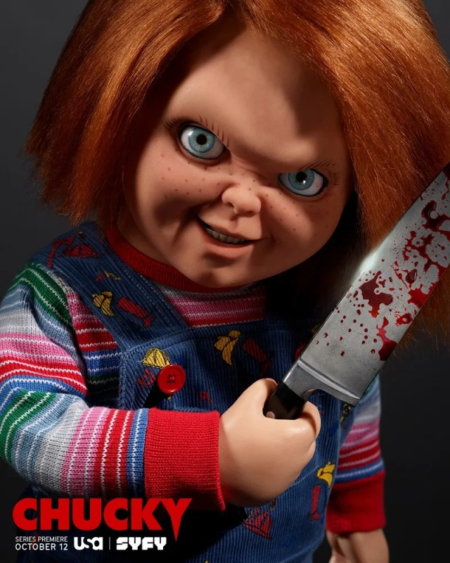 [News] USA & SYFY Join With Tongal to Create CHUCKY TV Posters
