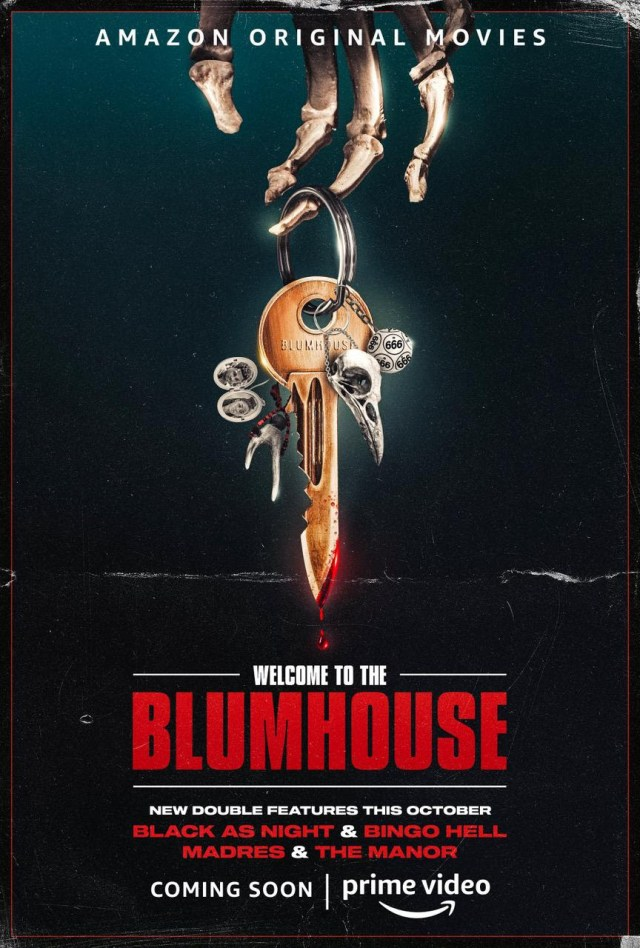 [News] Trailer & Poster Debuts for WELCOME TO THE BLUMHOUSE - BINGO HELL, BLACK AS NIGHT, MADRES, & THE MANOR,