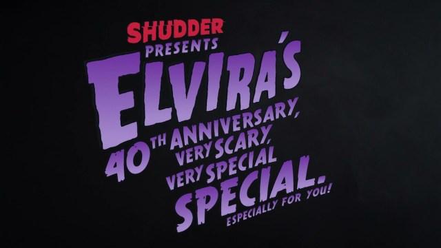 [News] Shudder Announces ELVIRA'S 40th ANNIVERSARY, VERY SCARY, VERY SPECIAL SPECIAL