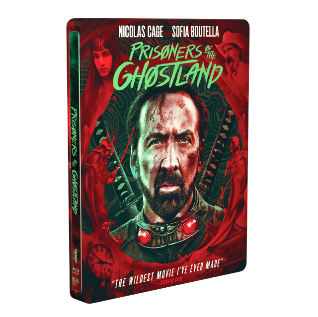 [News] PRISONERS OF THE GHOSTLAND Arrives on DVD, Blu-ray & 4K UHD Nov. 16