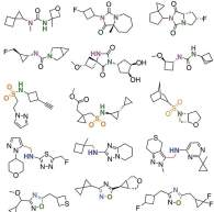 Illustration of molecules already discovered.