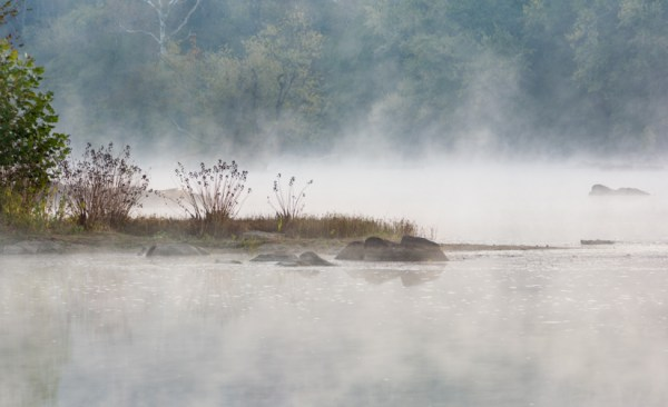 (1 st) Novice~Rebecca Doran~Morning Mist potomac River