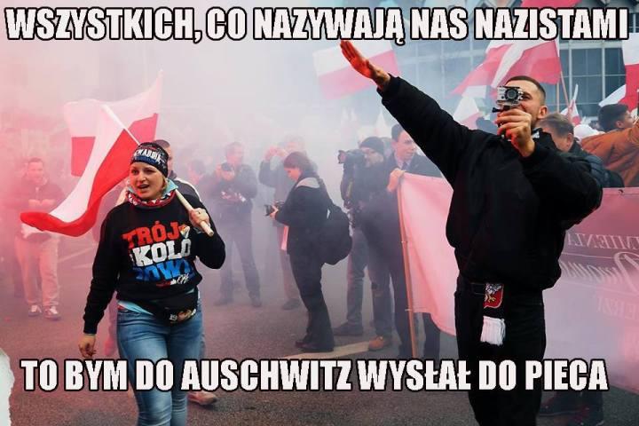 """""""Всех, кто называет нас нацистами, я бы отправил в Аушвиц в печь"""""""
