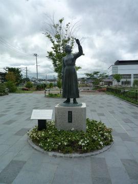 高村智恵子像の写真
