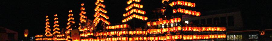 二本松提灯祭りの写真
