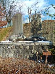 二勇姿の碑の写真