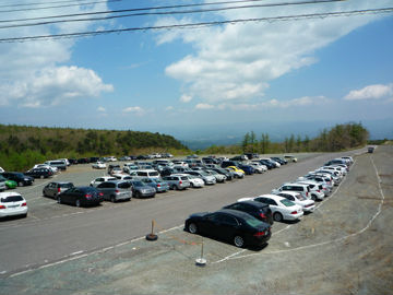 奥岳登山口・駐車場の写真