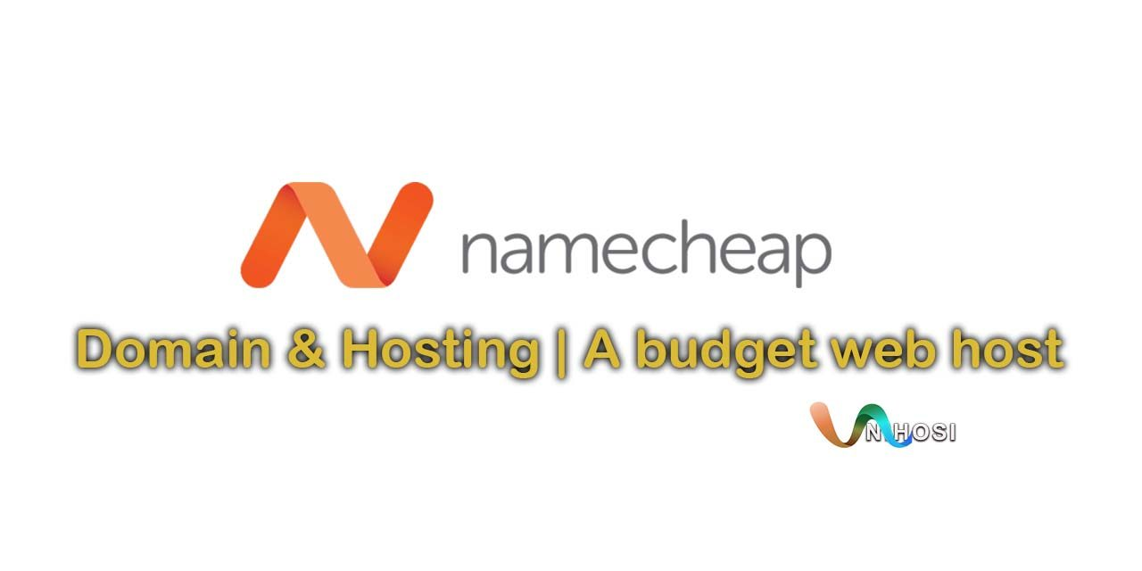 Namecheap| A budget web host you might actually want to use