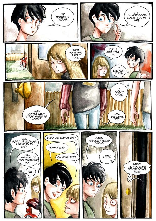 Chapter 6 #224, Comic Numb