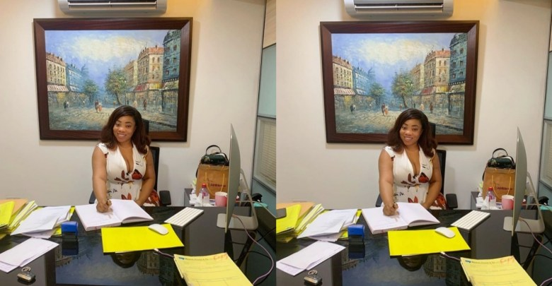 Moesha Boduong Says She Is Now A Lawyer & Barrister, Shows Off Her Office
