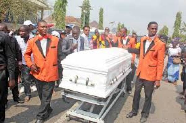 Pastor dies while preaching at member's funeral service