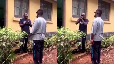 Photo of Sarkodie Leaves Fan Speechless As He Visits Him Unannounced (Video)