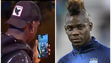 Photo of See The Cute Moment Mario Balotelli Makes His Parents Speak Twi On Italian TV- Video