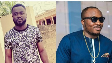 Photo of Fiifi Adinkra reacts to throwback photo of DKB