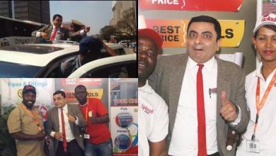 Photo of Fake Mr Bean: Man disguises himself as Mr Bean, hosts show in Zimbabwe where people paid to go watch him perform