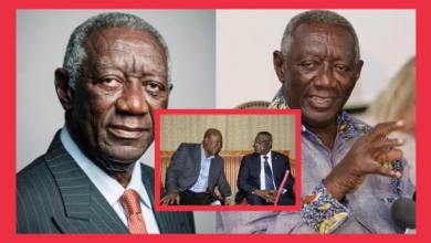 Photo of Prez J.A Kuffour almost weeps as he talks about his lose in the 2008 elections